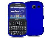 Samsung Freeform 3 R380 Blue Rubberized Snap-On Hard Case