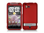 HTC Thunderbolt 6400 Red Rubberized Snap-On Hard Case