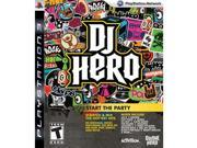 DJ Hero 1 GAME ONLY NEW Sony Playstation 3 PS3 Game