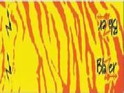 """Bohning Blazer Carbon Wrap 4"""" Yellow & Orange Tiger"""