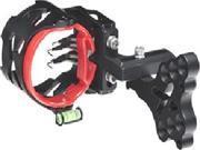 Archer Xtreme Headhunter Pro 5 Pin .019 Sight W/Led Black Right/Left Hand