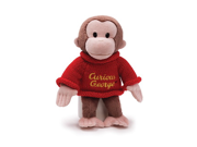 "Curious George With Sweater 12"" by Gund"