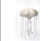 "White Glittered Jellyfish 14"" by Fiesta"