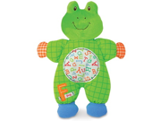 """Smarty Kids F is for Frog Comfort Cuddly Blanky 10"""" by Kids Preferred"""