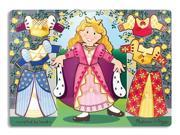"Princess Dress-Up Mix n Match Peg 11.7"" by Melissa & Doug"