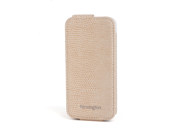 Kensington Portafolio Coffee Snake Solid Flip Wallet for iPhone 5 K39611WW