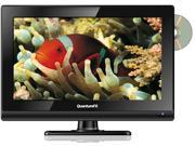 15.6 Inch QuantumFX TV-LED1612D 12 Volt AC/DC LED 1080p HDTV w/ DVD