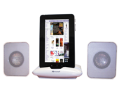 Supersonic IQ-1308W Portable Stereo Speaker for iPad MID/TABLET& Any Other Music Player