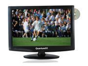 19 Inch QuantumFX TV-LED1912D 12 Volt AC/DC LED 1080p HDTV w/ DVD