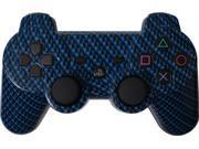 Custom PS3 Controller - Blue Black Carbon Fiber PlayStation 3 Controller