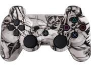 Custom PS3 Controller - White Nightmare PlayStation 3 Controller