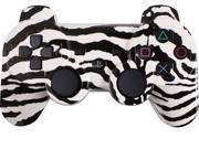 Custom PS3 Controller - White Zebra PlayStation 3 Controller