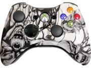 Custom Xbox 360 Controller: White Nightmare