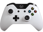 Modded Xbox One Controller: Glossy White Master Mod Compatible with Titanfall, Call of Duty: Ghosts and Battlefield 4