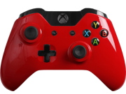 Modded Xbox One Controller: Glossy Red Master Mod Compatible with Titanfall, Call of Duty: Ghosts and Battlefield 4