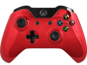 Modded Xbox One Controller Special Edition Red Chrome Adjustable Rapid Fire Controller