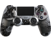 Custom PlayStation 4 Controller Special Edition Steel Nightmare Controller