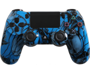 Custom PlayStation 4 Controller Special Edition Blue Nightmare Controller