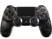 Custom PlayStation 4 Controller Special Edition Steel Zombie Hazard Controller