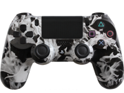 Evil Controllers Modded PS4 Controller Special Edition White Fire with Rapid Fire, Drop Shot and more mods for Call of Duty, Killzone and Battlefield