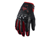 FOX RACING BOMBER MX/OFFROAD GLOVES RED MD