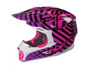FLY Racing Three.4 Helmet Purple/Pink LG