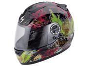Scorpion EXO-750 Kingdom Full-Face Helmet Black/Green XL