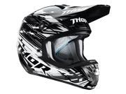 Thor Verge Helmet Twist Black/White SM