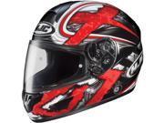 HJC CL-16 Shock Helmet Red SM