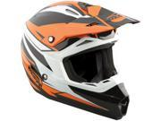 MSR Assault 2013 Youth MX/Offroad Helmet Orange YSM