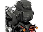 Saddlemen BR3400EX/S Combination Backrest/Seat/Sissy Bar Bag With Studs (3515-0121)
