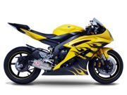 Yoshimura TRC Slip-On Muffler Titanium Fits 06-10 Yamaha YZF-R6 600
