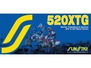Sunstar 520XTG Works Tripleguard Sealed Chain 100 Link (SS520XTG-100)