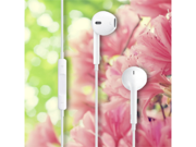 3.5mm Headset Earpod Earphone with Remote Mic for iPhone 4 4S 5 3 3GS White