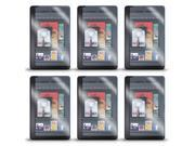 "Lot 6 AntiGlare Screen Protector LCD Film Guard for Amazon Kindle Fire 7"" Tablet"