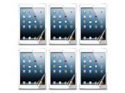 Lot 6x Clear Screen Shield Film Cover for Mini iPad the New Apple Tablet