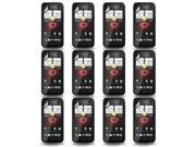 Lot 12X LCD Screen Protector Film for HTC Droid Incredible 4G LTE Fireball 6410