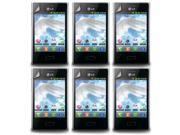 Lot 6X LCD Clear Touch Screen Protector Film Cover for LG Optimus L3 E400