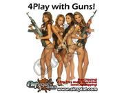 AirSplat AK47 M9 AK74 Gun 4 Some Poster