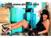 AirSplat Tommy Gun Ursula Mayes Poster