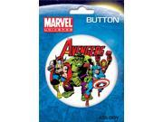 "Avengers Kirby Group 3"" Button"