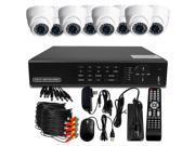 BV Tech Surveillance System w/ 16Ch 960H DVR and 8 700TVL IR Cameras