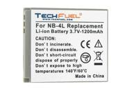 TechFuel Li-ion Rechargeable Battery for Canon Digital IXUS 30 Digital Camera