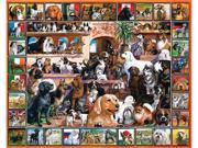 White Mountain Puzzles World of Dogs Puzzle
