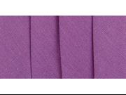 "Double Fold Bias Tape 1/2"" 3 Yards-Purple"