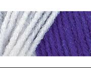 Red Heart Team Spirit Yarn-Purple/White