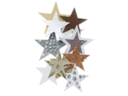Jolee's By You Dimensional Embellishment-Gold & Brown Stars