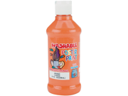 Palmer Washable Poster Paint 8 Ounces-Orange
