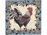 "Rooster Counted Cross Stitch Kit-12-1/2""X12-1/2"" 14 Count"