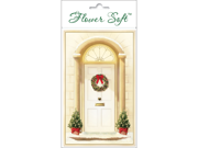 Flower Soft Card Toppers - Christmas-Christmas - Traditional Door Topper